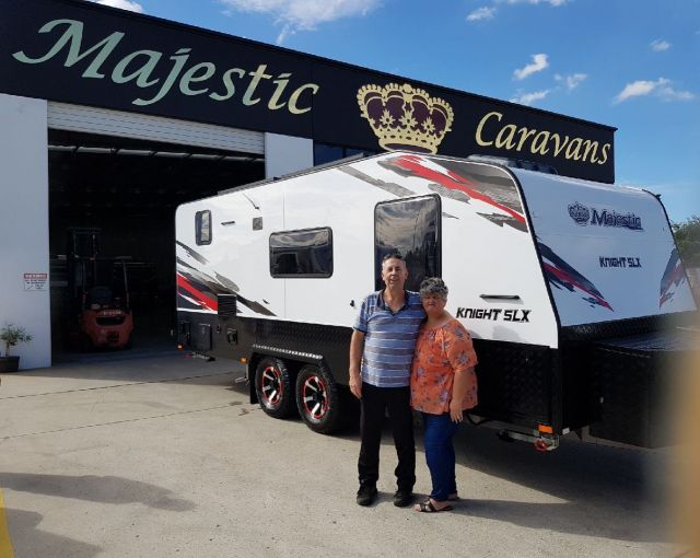 Congratulations to the Hughes' and welcome to the Majestic family, happy and safe travels.